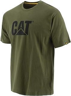 Men's Cat Iconic Logo Premium Ringspun Combed Cotton Tee