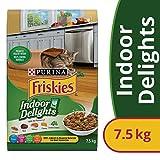 Friskies Indoor Delights Dry Cat Food - 7.5 kg Bag