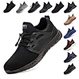 Safety Shoes for Men Steel Toe Cap Trainers Womens Lightweight Work Boots Mesh