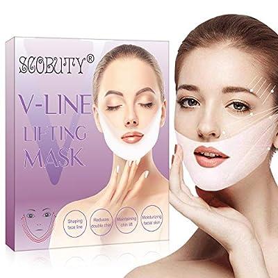 V Line Mask,V Shaped Mask,V line Lifting Mask,V Shaped Slimming Face Mask,V Line Lifting Mask,V Line Mask Chin Up Patch Double Chin Reducer Mask by SCOBUTY