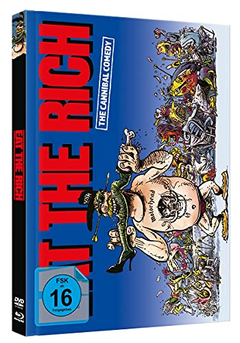 EAT THE RICH - Limited Mediabook - Cover A - [Blu-ray & DVD]