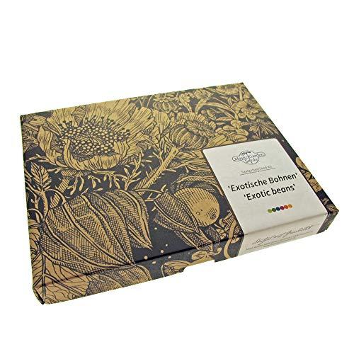 Magic Garden Seeds Haricots Exotiques - kit Cadeau de graines avec 4 variétés de Haricots rares pour Les Experts