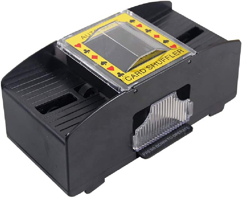 SP Ableware Battery Powered 2021 new 2-Deck Card Dallas Mall 712570 Shuffler Playing
