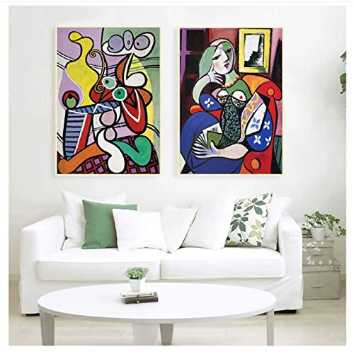 Picasso Women Abstract Canvas Art Print Painting Replica Poster Wall Pictures For Living Room Home Decorative Bedroom Decor