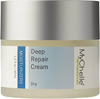 MyChelle Dermaceuticals Deep Repair Cream- Rich Facial Moisturizer to Boost Skin Renewal and Reduce Aging Signs, Enriched with Antioxidants and Kombucha Tea for Hydration, 1.2 fl oz
