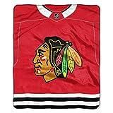 NHL Chicago Blackhawks 'Jersey' Raschel Throw Blanket, 50' x 60'