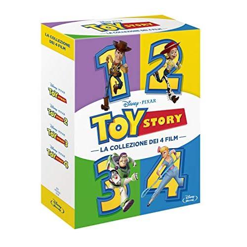 Cofanetto Toy Story 1, 2, 3, 4 brd (4 Blu Ray)