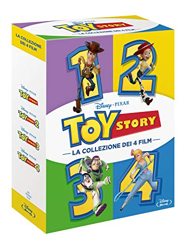 Cofanetto Toy Story 1, 2, 3, 4 brd (4 Blu Ray)