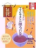 ローズマダム 低カフェイン ママにやさしいほうじ茶 ティーバッグタイプ(20包)