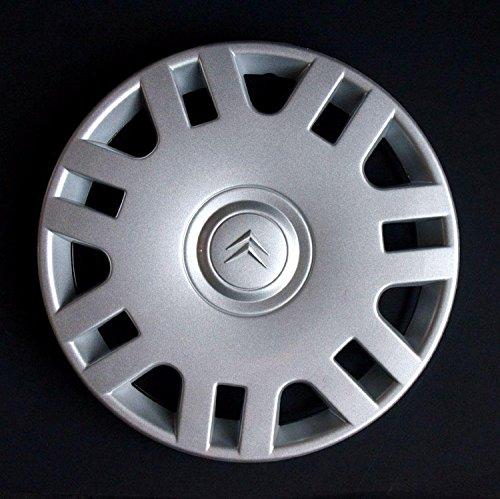 2P.Automotive - Lot de 4enjoliveurs adaptables pour voiture, pièces non d'origine