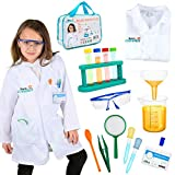 Born Toys 15 Piece Lab Coat for Kids and Scientist Costume for Ages 5-9