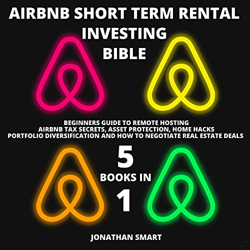 Airbnb Short Term Rental Investing Bible: 5 Books in 1 Audiobook By Jonathan Smart cover art
