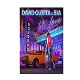 Poster und Drucke David Guetta Musik Abdeckung