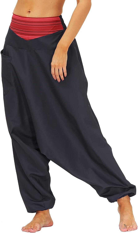 Women's High Waist Casual Pants Vacation Boho Floral Printing Elastic Waist Wide Leg Lounge Long Pants