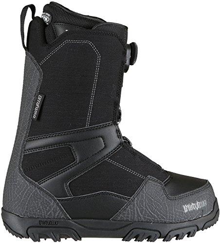 ThirtyTwo Shifty Boa '17 Bottes de Snowboard, Unisexe Adulte, 8105000292, Noir, 11