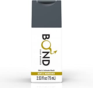 BOND MASCULINE WASH 2.5 Fl. Oz. (75mL) Finest Hygiene Care Products for Men (Gentle Nourisher-Gold)