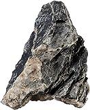 sera Rock Quartz Gray (Preis pro Stein) verschiedene Größen - Naturstein Deko fürs Aquarium - Dekoration bzw. Gestein Aquascaping Seiryu