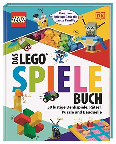 Das LEGO® Spiele Buch: 50 lustige Denkspiele, Rätsel, Puzzle und Bauduelle. Kreativer Spielspaß für die ganze Familie! Mit 45 LEGO® Steinen