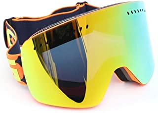 Yiph-Sunglass Gafas de Sol Montar al Aire Libre Gafas De Esquí Profesional De Snowboard Anti-vaho Y Anti-UV Gafas De Vehículo Todoterreno Línea De Lentes De Doble Lente