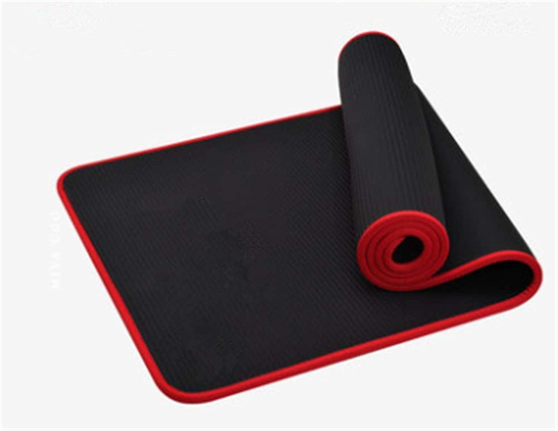 EYHGSDJW Yoga Mat Beginner Thickening Widened Long Female Men's NonSlip Yoga Dance Fitness Mat ThreePiece