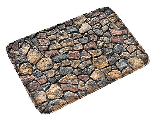 DCCN Dirt Trapper Alfombrilla con Respaldo de Suelo Tapete de Goma 40 x 60 cm