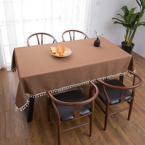 LYDCX Américain Nordique Nappe Coton Table Basse Pad Salon Rectangulaire TV Meuble Housse De Serviette