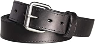Concealed Carry CCW Leather Gun Belt 1 1/2 inch 100% Full Grain Thick Leather Belt for Gun Carry