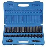 Grey Pneumatic (1430MRD 1/2' Drive 30-Piece Standard/Deep Metric Socket Set