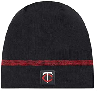 d2bc5bc0f New Era MLB Minnesota Twins Clubhouse Stocking Knit Hat Beanie Skull Cap  Navy