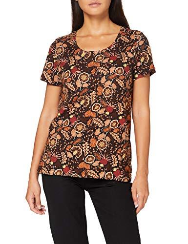 Scotch & Soda Printed Short Sleeve tee Camiseta para Mujer