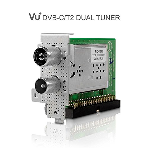 VU + ® Radio Dual DVB-C/T2 (Single Housing) Duo 2 / Solo SE V2 / Ultimo / Uno