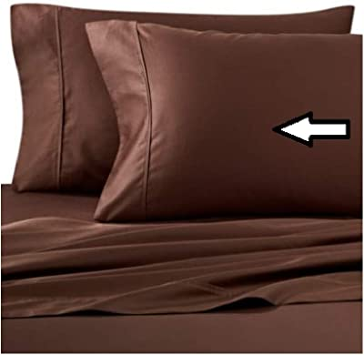 Wamsutta 400-Thread-Count King Pillowcases in Chocolate (Set of 2)