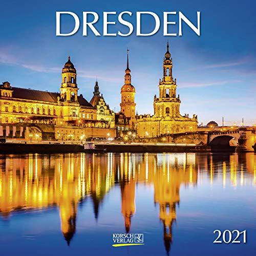 Dresden 2021: Broschürenkalender mit Ferienterminen