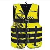 Sea-Doo BRP Unisex Nylon Navigator Life Jacket Vest PFD Yellow 2X/3X