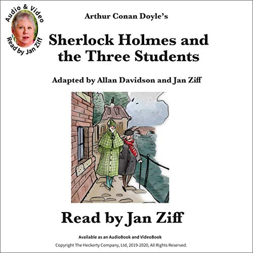 Sherlock Holmes and the Three Students cover art