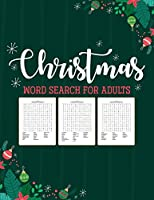 Christmas Word Search For Adults: Puzzle Book - Holiday Fun For Adults - Activities Crafts - Games