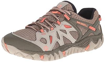 Merrell Women's All Out Blaze Aero Sport Hiking Water Shoe, Beige/Khaki, 8.5 M US