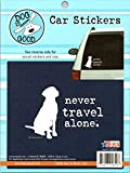 Never Travel Alone Stickers Pe...