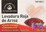 El Naturalista Levadura Roja De Arroz- Q10-Cardo Mariano 60Cap. 1 unidad 200 g