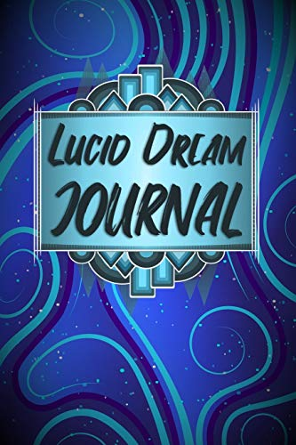 Lucid Dream Journal: Blue Psychedelic Abstract Pattern