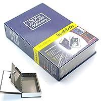 Riipoo ( TM ) Bigサイズ辞書Diversion Hidden Book Safe with強力なメタルケース内側とキーロック(サイズ: 24015555MM )
