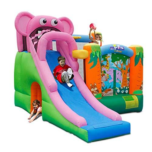 ZUIZUI Castillos hinchables Los Grandes Juguetes para niños Involtables para niños Castillo Inflatable Diapositiva Interior Diapositiva Infantil Trampolín Infantil Inflatable Castillo