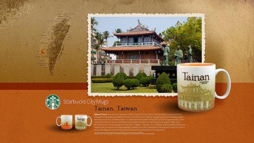 STARBUCKS Tainan Taiwan Global Icon Series Mug 453,6 g