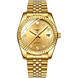 Automatic Men's Watch Luxury Mechanical Two...