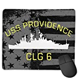 USS Providence CLG-6 Computer Mouse Pad Gaming Mouse Pad Office Products