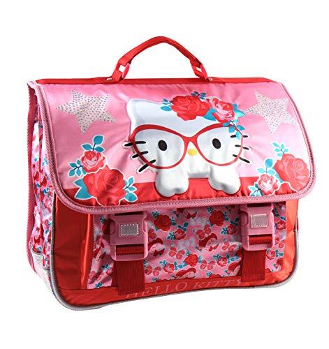 Jacob & Co. Schoolbag Hello Kitty - Zaino per bambini, 41 cm, colore: Rosa