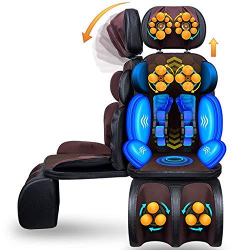 Massageauflage,massagegerät, Shiatsu Zurück SchulterMassager - Verstellbare Massagesessel, Rücken- und Beinmuskulatur mit Vibration, beruhigende Wärmebehandlungen