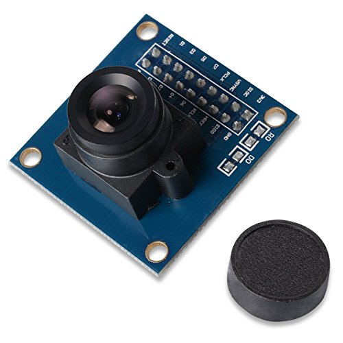 Dosige Ov7670 VGA-Kamera-Modul 640x480 3.3V SCCB W / I2C Objektiv CMOS für Arduino