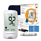CareSens N Plus Bluetooth Blood Diabetes Monitoring Kit (Auto Coding) - 1 Glucose Meter with 100 Glucose Test Strips, 1 Control Solution, 1 Lancing Device, 100 Lancets, 1 Carrying Case, 2 Batteries
