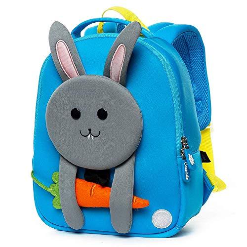 Kinderrucksack Hase,Kindergartenrucksack Kaninchen,Mini Rucksack,Kindergartentasche Kindergarten Rucksack,Baby Backpack,Mini Schultasche mit Häschen,Baby Tasche Mädchen Junge
